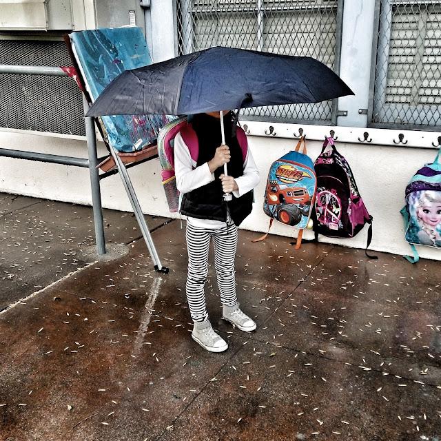 rainy day umbrellas are good