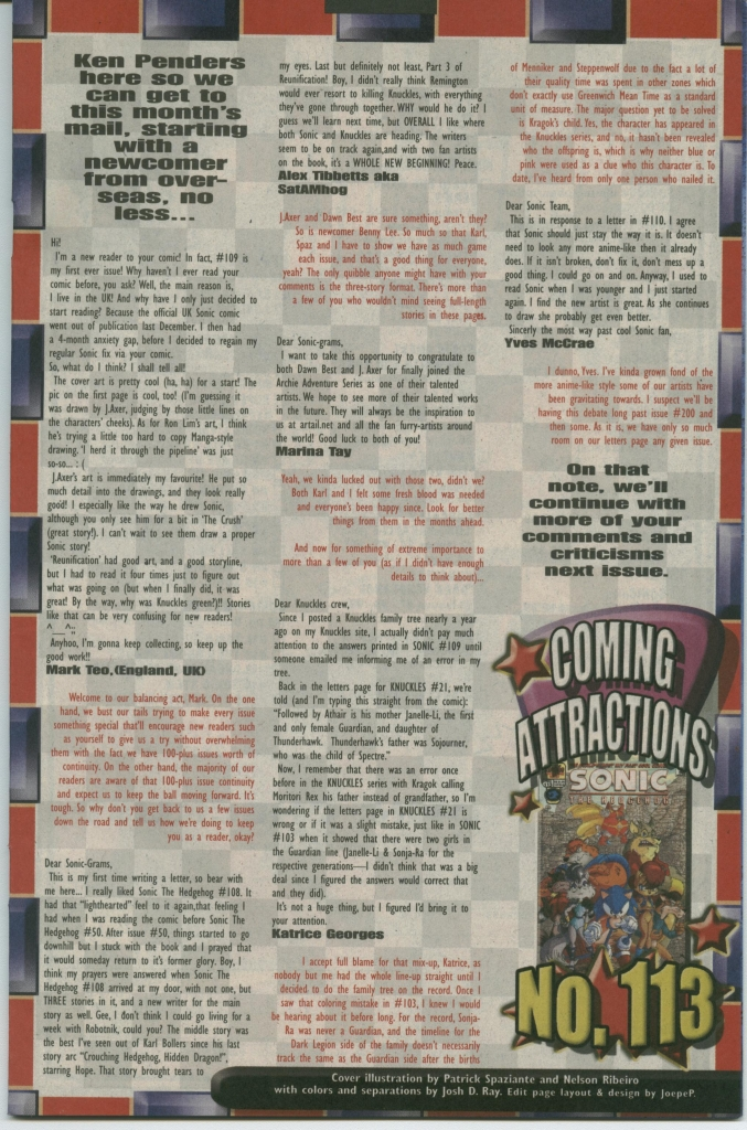 Read online Sonic The Hedgehog comic -  Issue #112 - 33