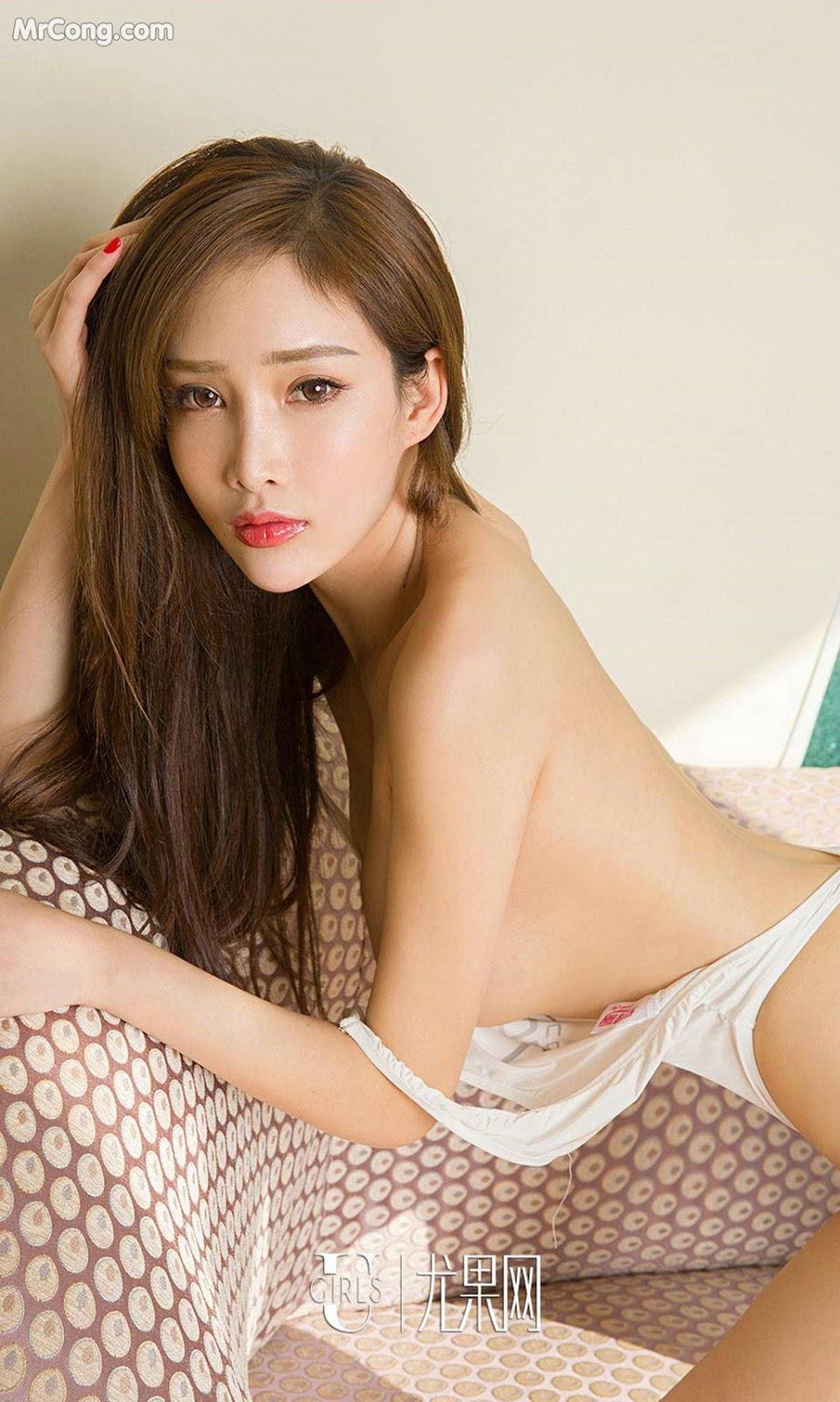 Image UGIRLS-Ai-You-Wu-App-No.875-Zhou-Yan-Xi-MrCong.com-005 in post UGIRLS – Ai You Wu App No.875: Người mẫu Zhou Yan Xi (周妍希) (40 ảnh)