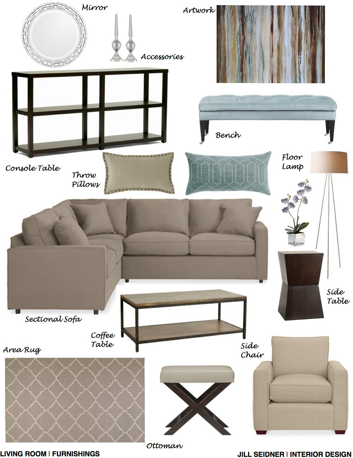 Jill Seidner Interior Design Online Design E Decorating Services Virtual Interior Design