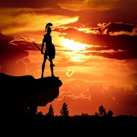 https://www.ceramicwalldecor.com/p/spartan-army-sun-dusk-roman-soldier.html