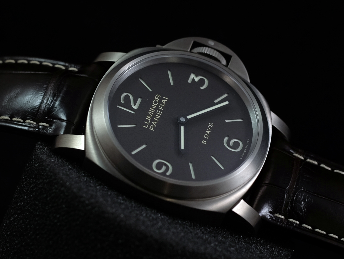 panerai 40mm blau luminor marina 120