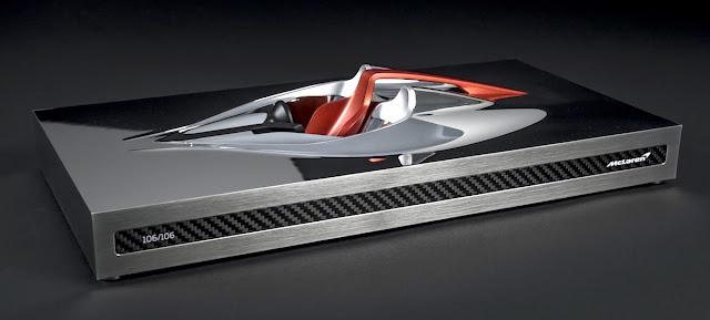マクラーレンF1の後継モデル「Hyper-GT」のオーナーのみが入手可能な貴重なインテリア彫刻を公開。