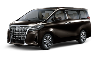 Toyota Alphard Warna Graphite Metallic