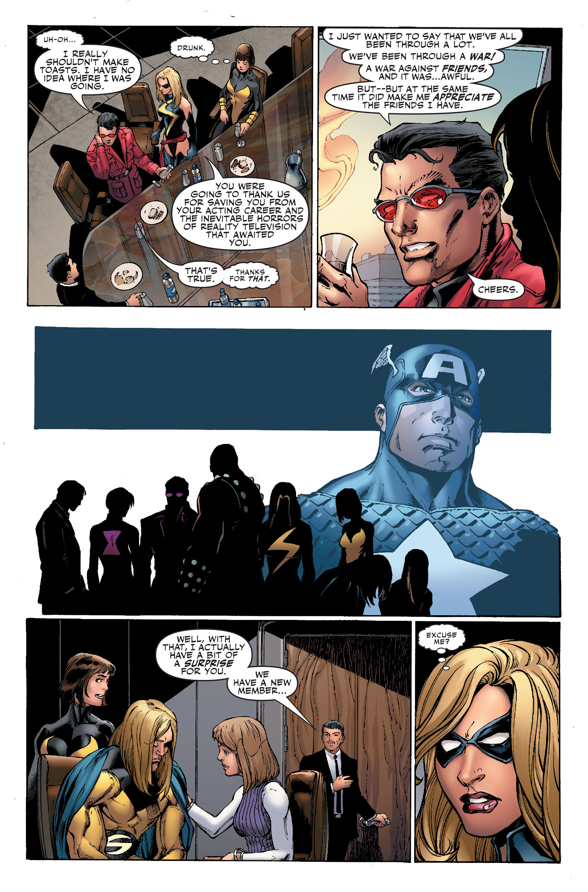 Read online Secret Invasion: The Infiltration comic -  Issue #1 - 11