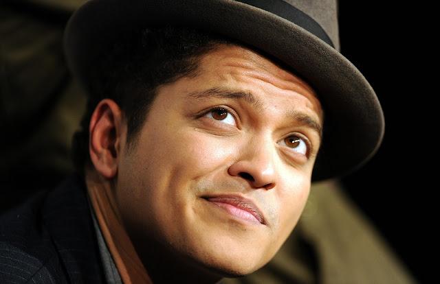 Bruno Mars aka Peter Gene Hernandez