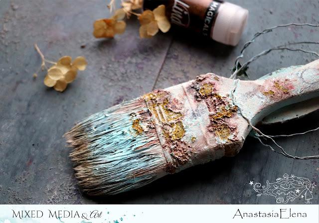 @nastyalena #alteredart #mixedmedia #scrapbooking
