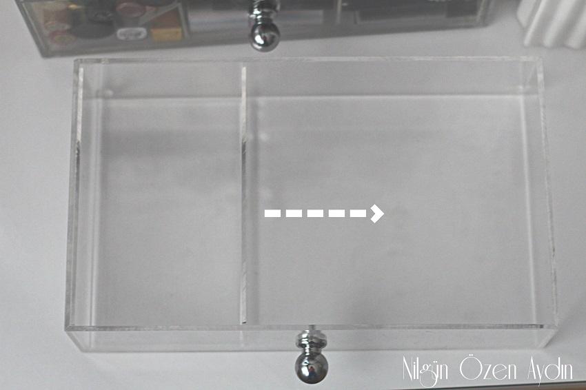vpleksihome-makyaj orginizer-makyaj kutuları-şeffaf makyaj düzenleyciler