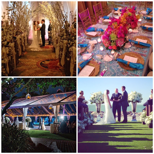 See your wedding venue all dressed up! Are you following me on Instagram?