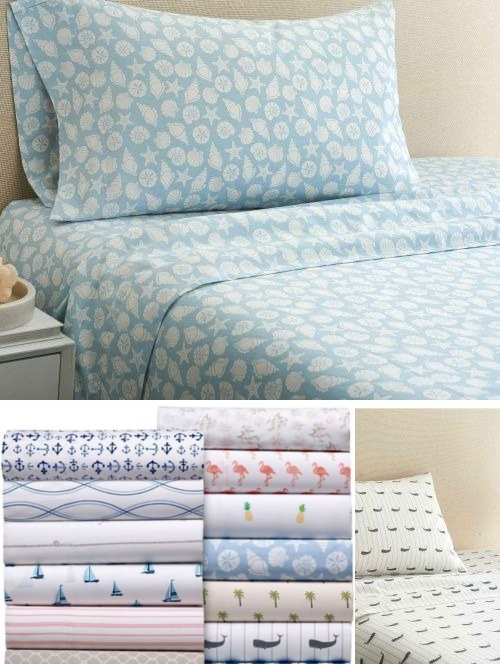 Coastal Cotton Sheets