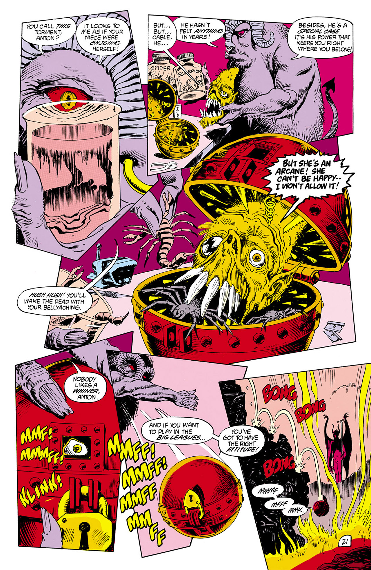 Swamp Thing (1982) Issue #76 #84 - English 21