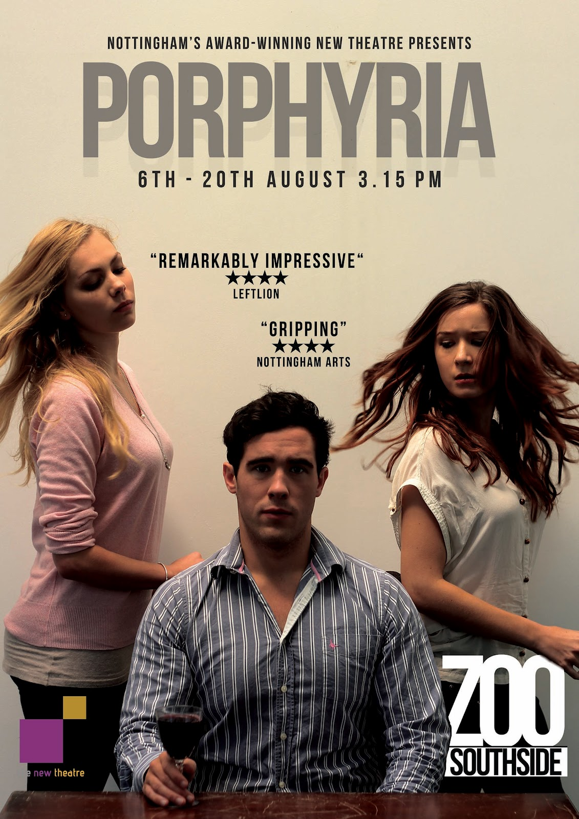 other thoughts: Porphyria at Edinburgh Fringe