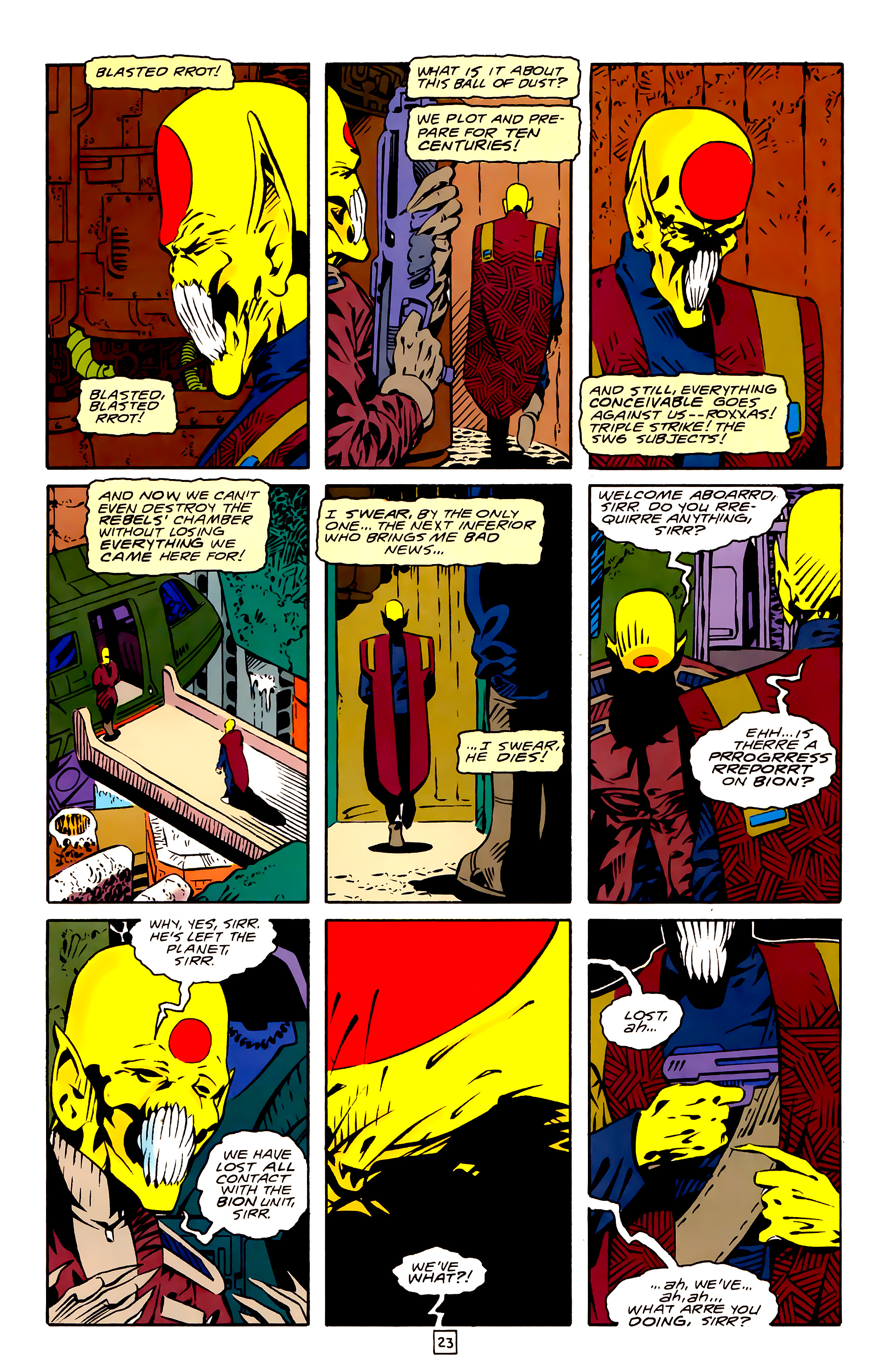Legion of Super-Heroes (1989) 26 Page 23