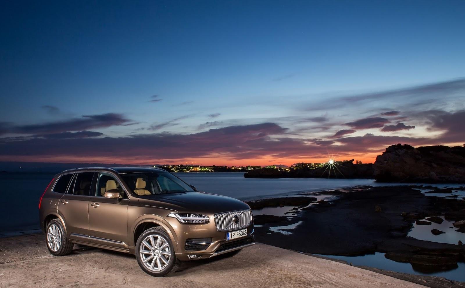 "VOLVO NEW%2BXC90 C Βραβείο ""SUV της Χρονιάς 2016"" για το Νέο Volvo XC90"