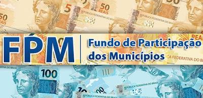Municípios receberão mais de R$ 602 milhões na próxima segunda-feira (20)