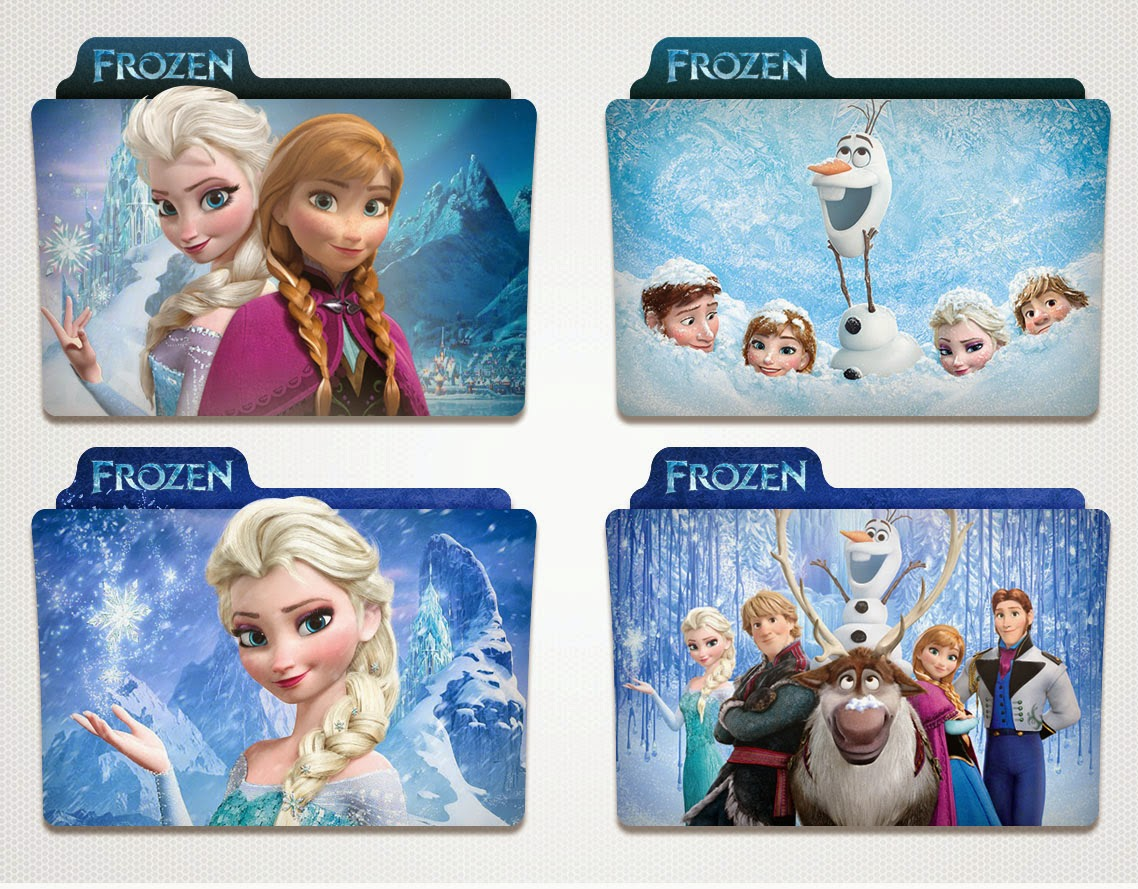 Icon Folder Frozen untuk windows