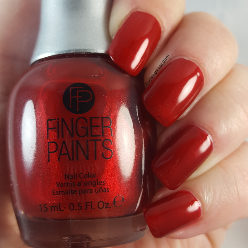 Crimson Nail Polish: Winter Glaze Collection
