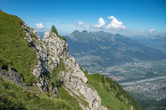 Bergtour Rappenstein von Steg  Wandern Fürstentum Liechtenstein 11