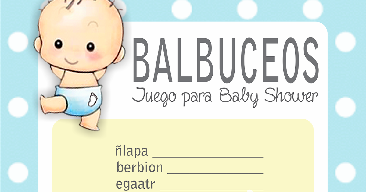 Respuestas Para Baby Shower Juegos Balbuceo Www Imagenesmy Com