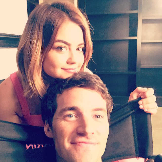 are lucy hale and ian harding really dating