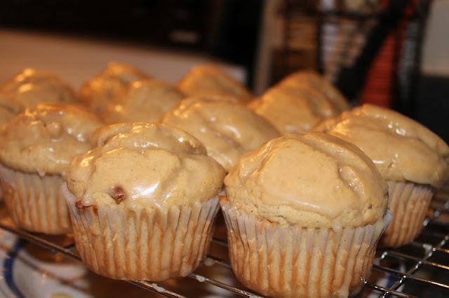 Freshly Glazed Doughnut Muffins
