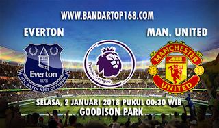 Prediksi Everton vs Manchester United 2 Januari 2018
