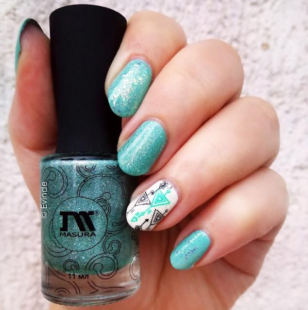 masura holographic nail polish
