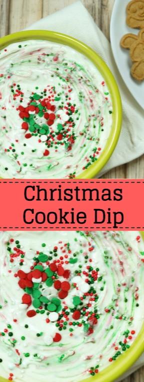 Christmas Cookie Dip #christmas #cookies