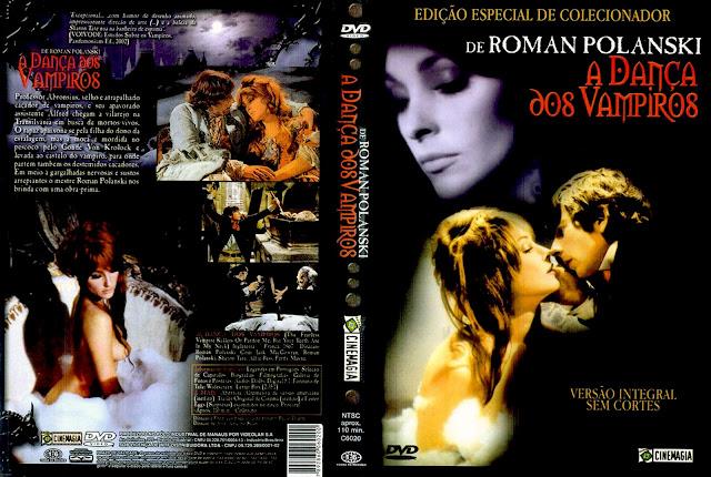 Capa DVD A Dança dos Vampiros (Edição de Colecionador)