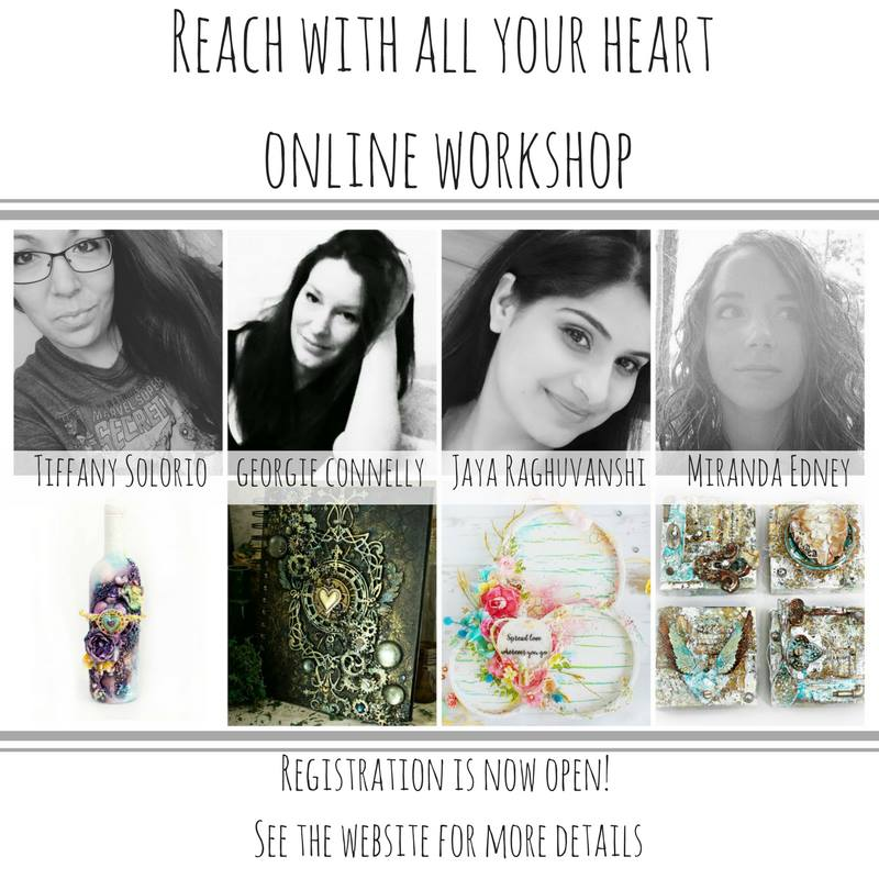Reach With All Your Heart Workshop
