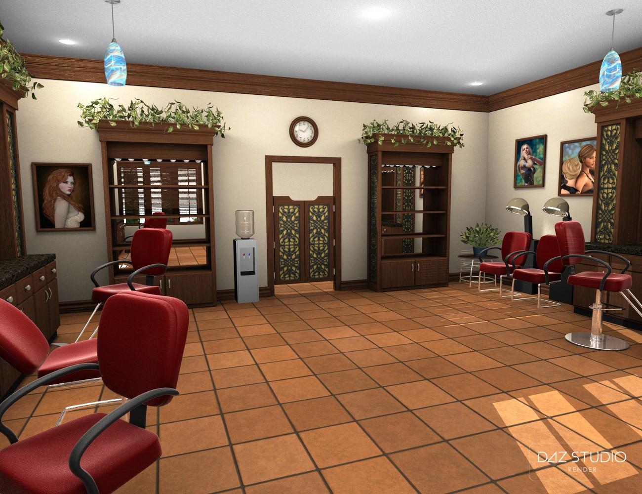 Download daz studio 3 for free daz 3d chez lucille for Salon complet chez but