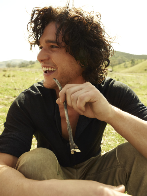 Kit Harington Hairstyles And Curly Hair Pictures Mane