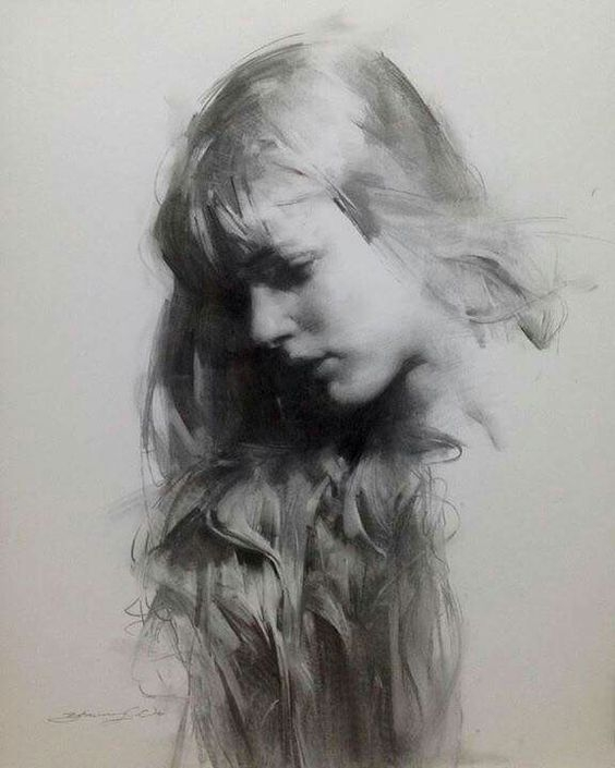 03-Zhaoming-Wu-Our-Essence-Captured-in-Charcoal-Portrait-Drawings-www-designstack-co