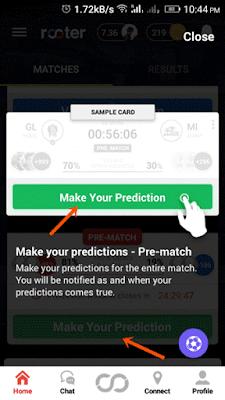 pre match prediction