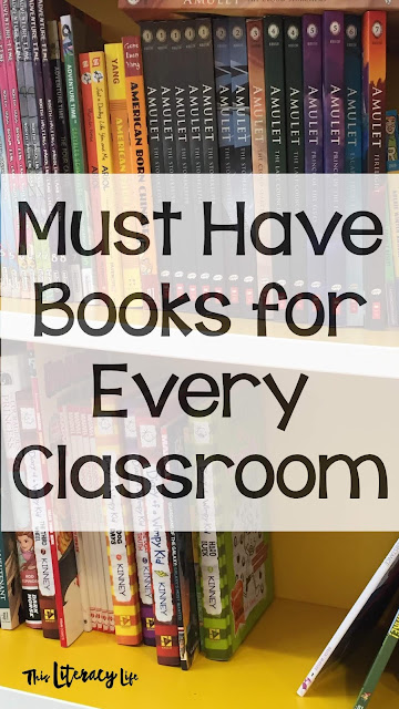 A variety of books in your classroom library can help all students find the perfect book to read. These must-have books make it easy for students to find and read the books they love.