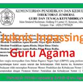 Juknis Pengiriman Berkas Inpassing Kemenag (Guru Agama) Tahun 2019