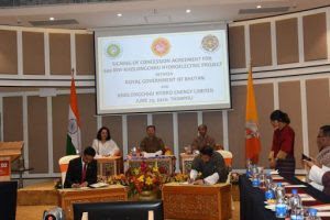 Agreement between India and Bhutan for Hydroelectric Project
