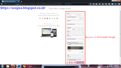 Tutorial Buat Account Gmail