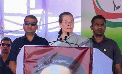 Sonia Gandhi Says PM Modi Lectures Cant Feed Us