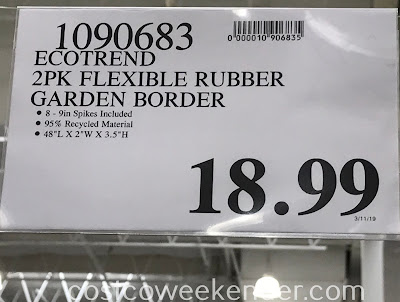 Deal for an 2 pack of Ecotrend Garden Borders at Costco