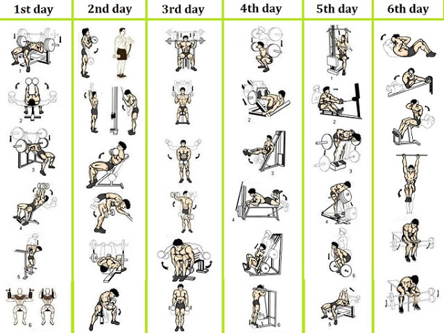This Is A Basic Yet Extremely Effective 4 Day Workout Plan Thats Perfect For Beginners