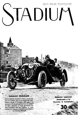 Volta Catalunya, Automobilisme