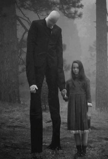 Slenderman o caçador de crianças