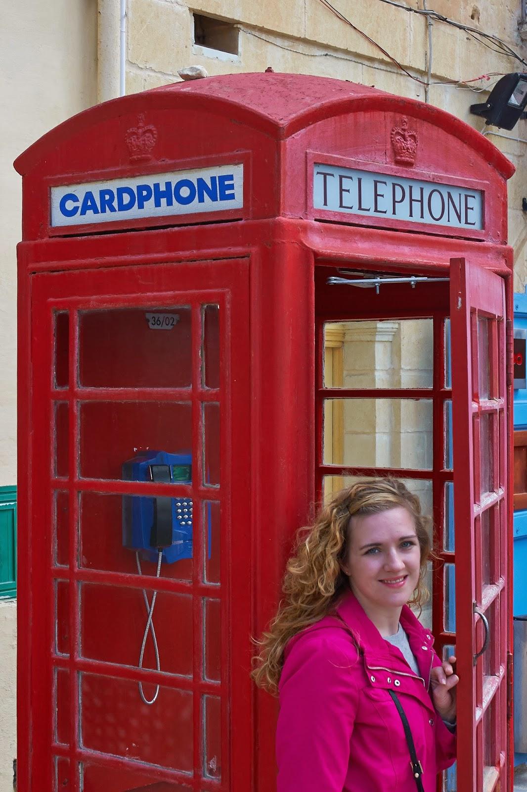 budki telefoniczne na Malcie