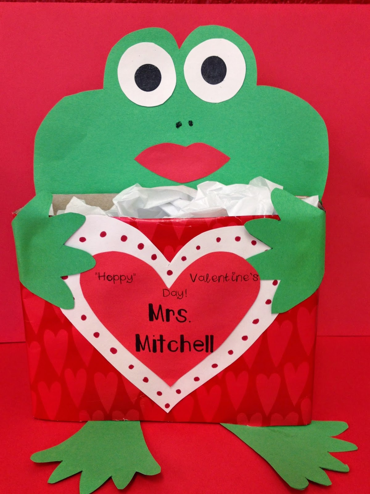Valentine's Day Froggy Cereal Box Freebie! - First Grade Roars!