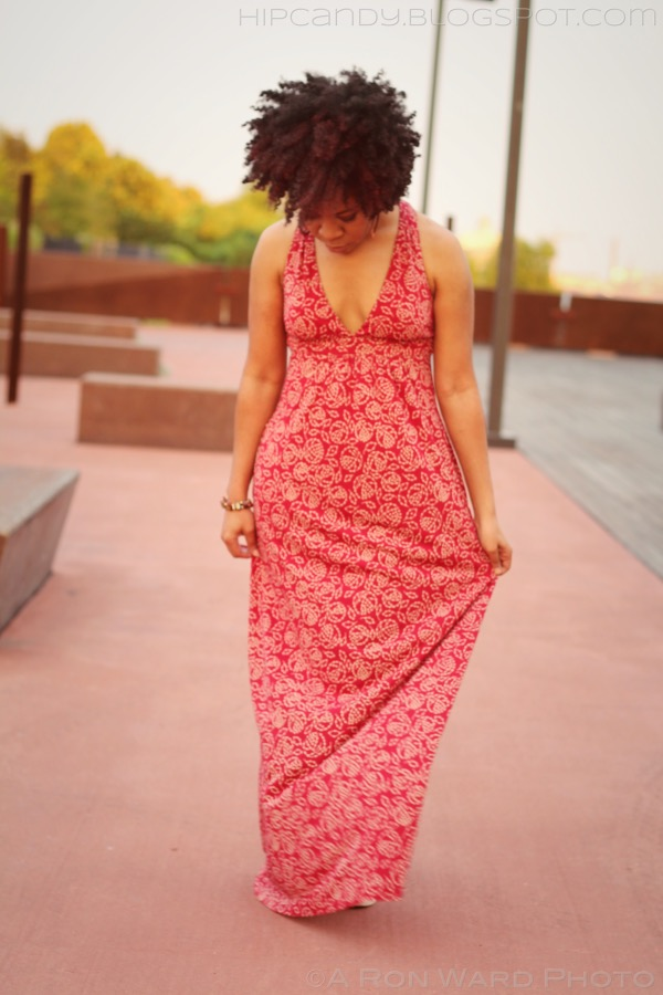 fashion sewing red maxi dress diy style 18 months hair