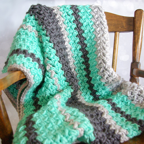 Baby Bean Baby Blanket - Tutorial