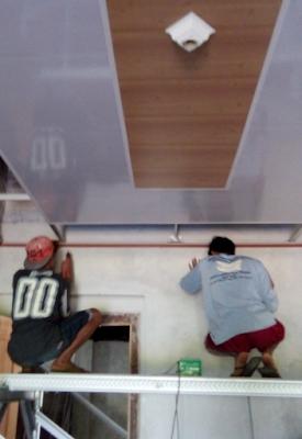 model plafon pvc terbaru
