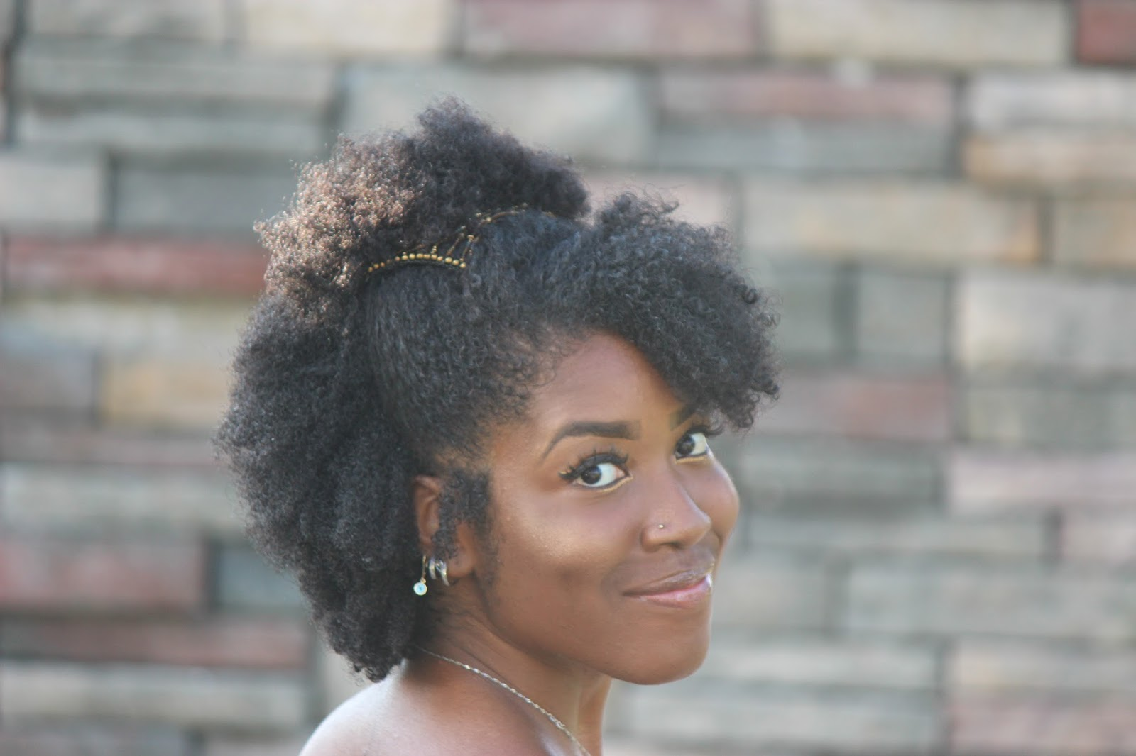Cute Hairstyle for Natural Hair Using the Magic Comb. 1600 x 1066.Hairstyles 2013 Lulu