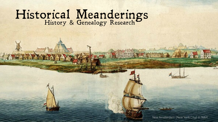 Historical Meanderings